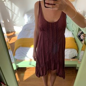 Intimately- Free People high low shift dress